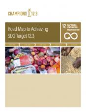Road Map to Achieving SDG Target 12.3 cover