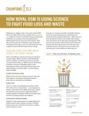 How Royal DSM Is Using Science to Fight Food Loss and Waste